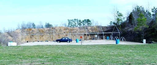 This is a muti-purpose range with plenty of falling steel and props