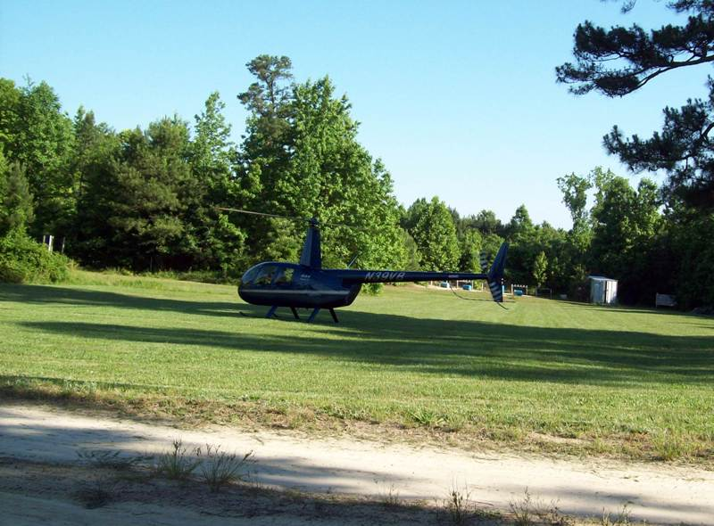 Hellicopter Landing Zone (no wires within 100 Yard Radius from Little Bird).