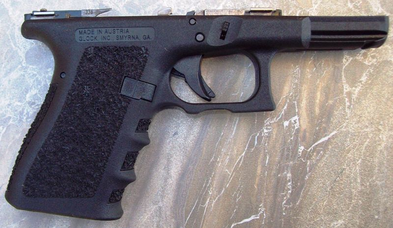 Brand New Glock OEM G19 Frame Customized by D.R. Middlebrooks: P.O.R.