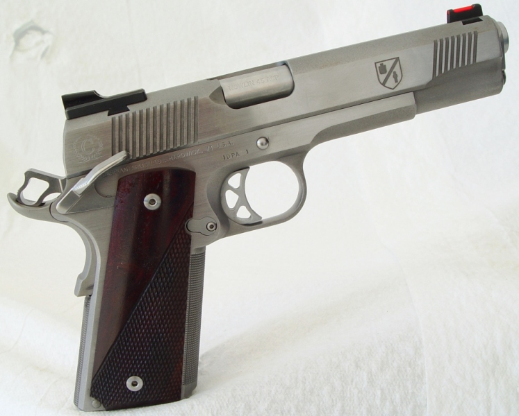 CUSTOM CASPIAN M1911 Designed & Built for IDPA Competition by D.R. Midlebrooks