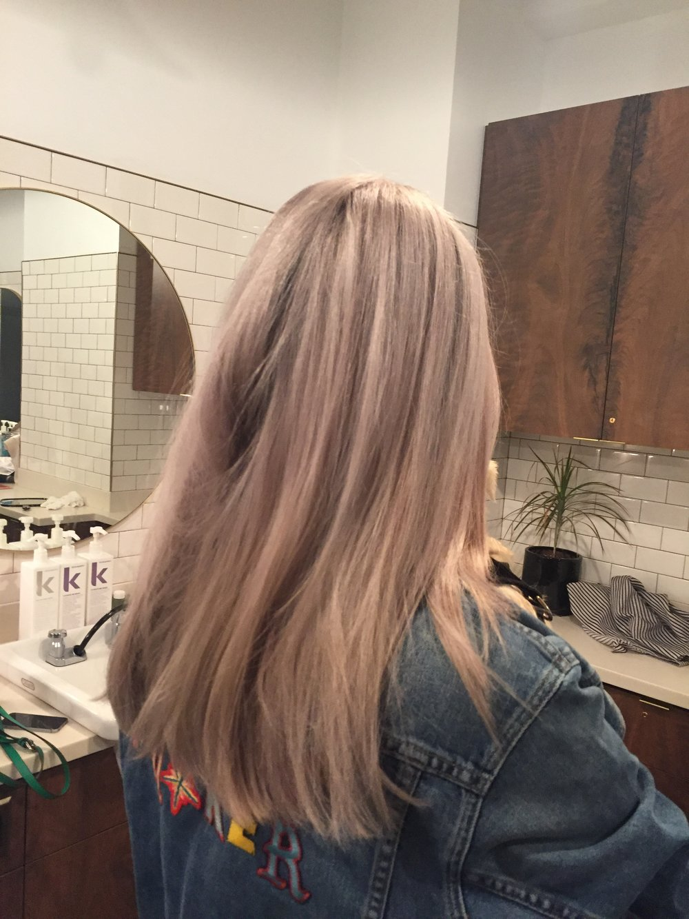 Bleach and Tone Iridescent perfection