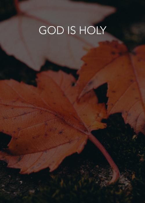 God is Holy _ dr jk jones.jpg