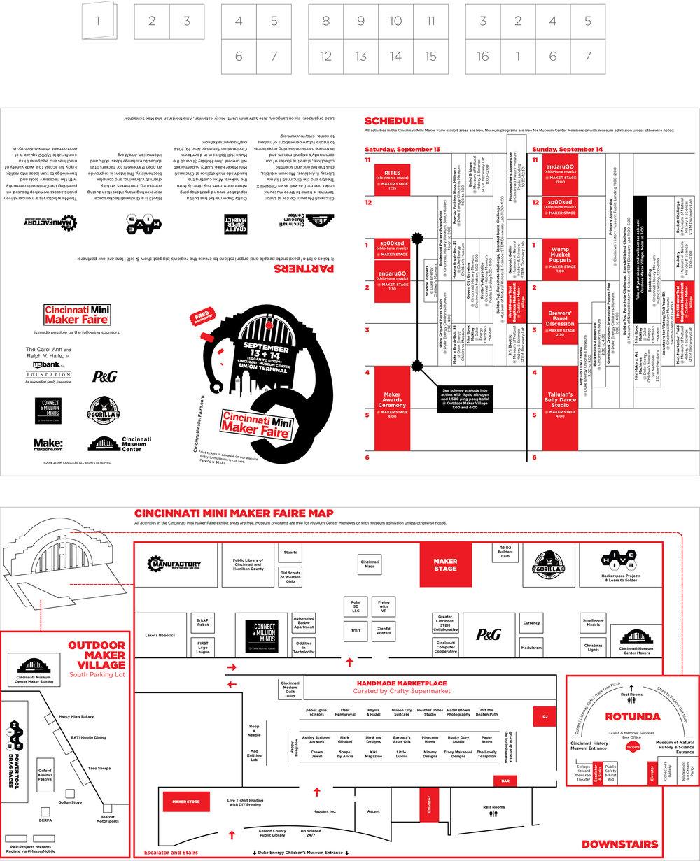 Unfolded Program Design, Newsprint