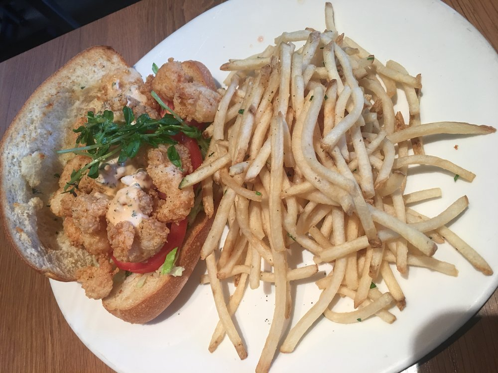 Rock Shrimp Po'Boy