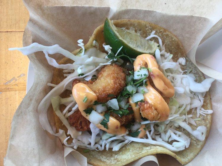 Crispy Shrimp Taco