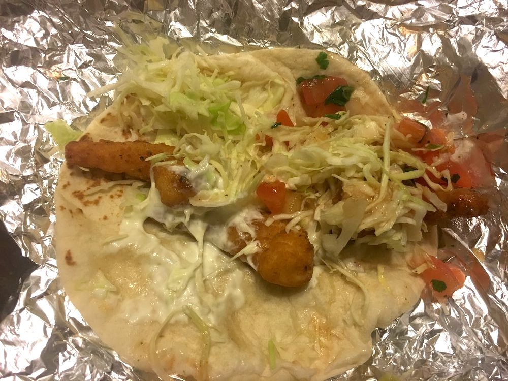 Jumbo Shrimp Taco