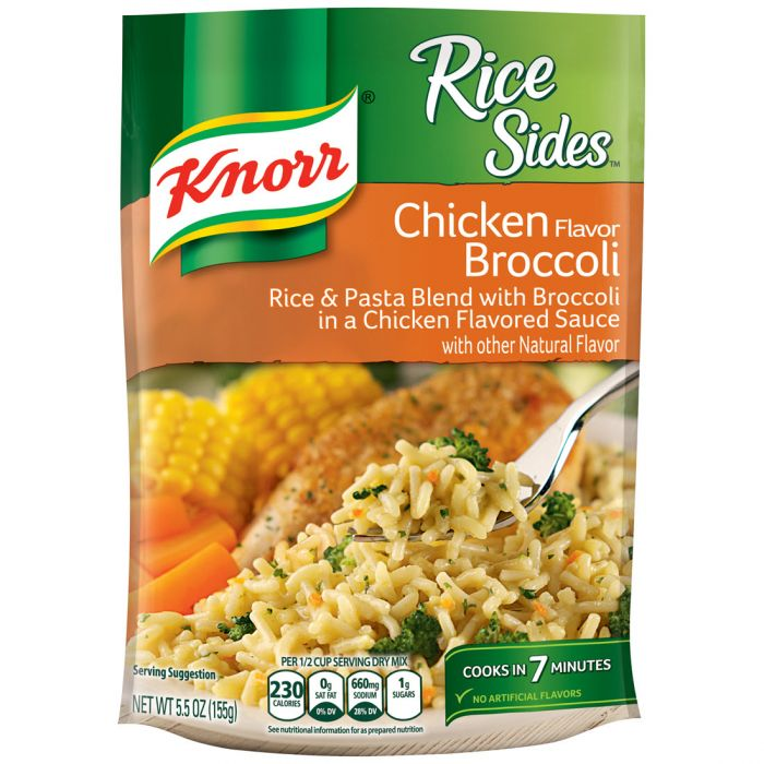 Knorr Cheddar Broccoli Rice With Chicken Recipe