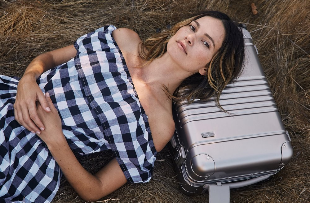 The Carry-On for design lovers - Aluminum Carry-On / Arlo Skye