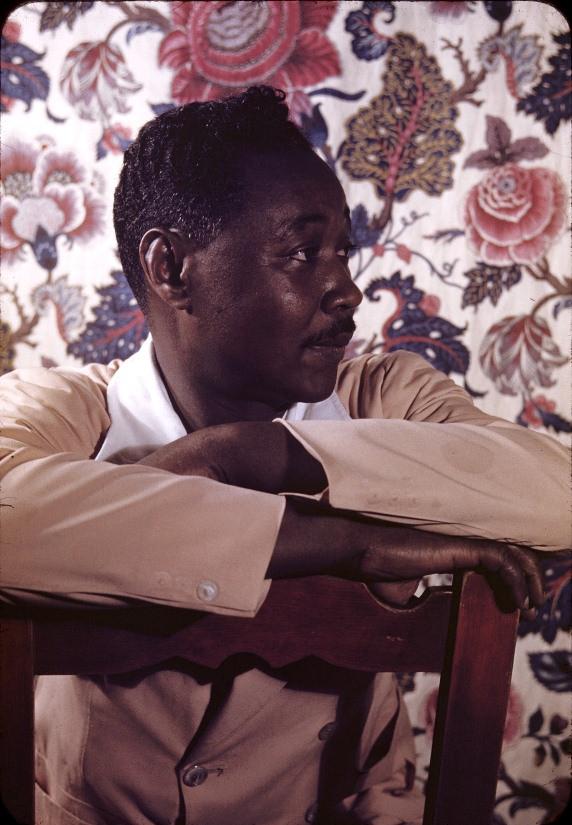 Poet, Claude McKay.Portrait by photographer,Carl Van Vechten