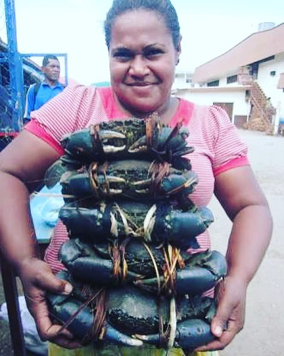I've cooked a lot of crab. I love crab. Crab from Antarctica to the Arctic. The scariest of all is this fierce muddy from Papua.  If it doesn't get me first, it will be on the menu tonight at #thecrabclub pop up at Saigon Street in Bali. G