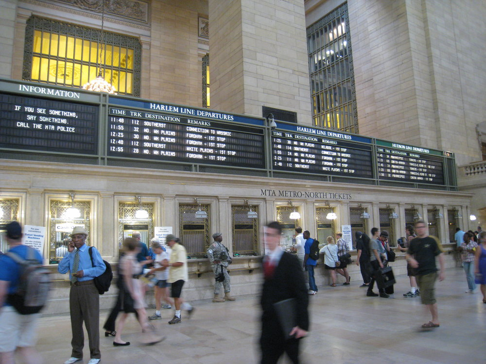 Grand Central Terminal, New York (Photo by M. Vardaman)