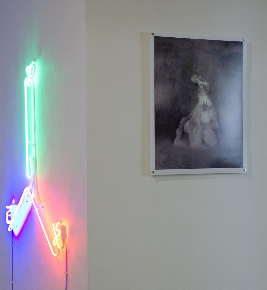 L-R Gibson/Martelli, Sasha Bowles