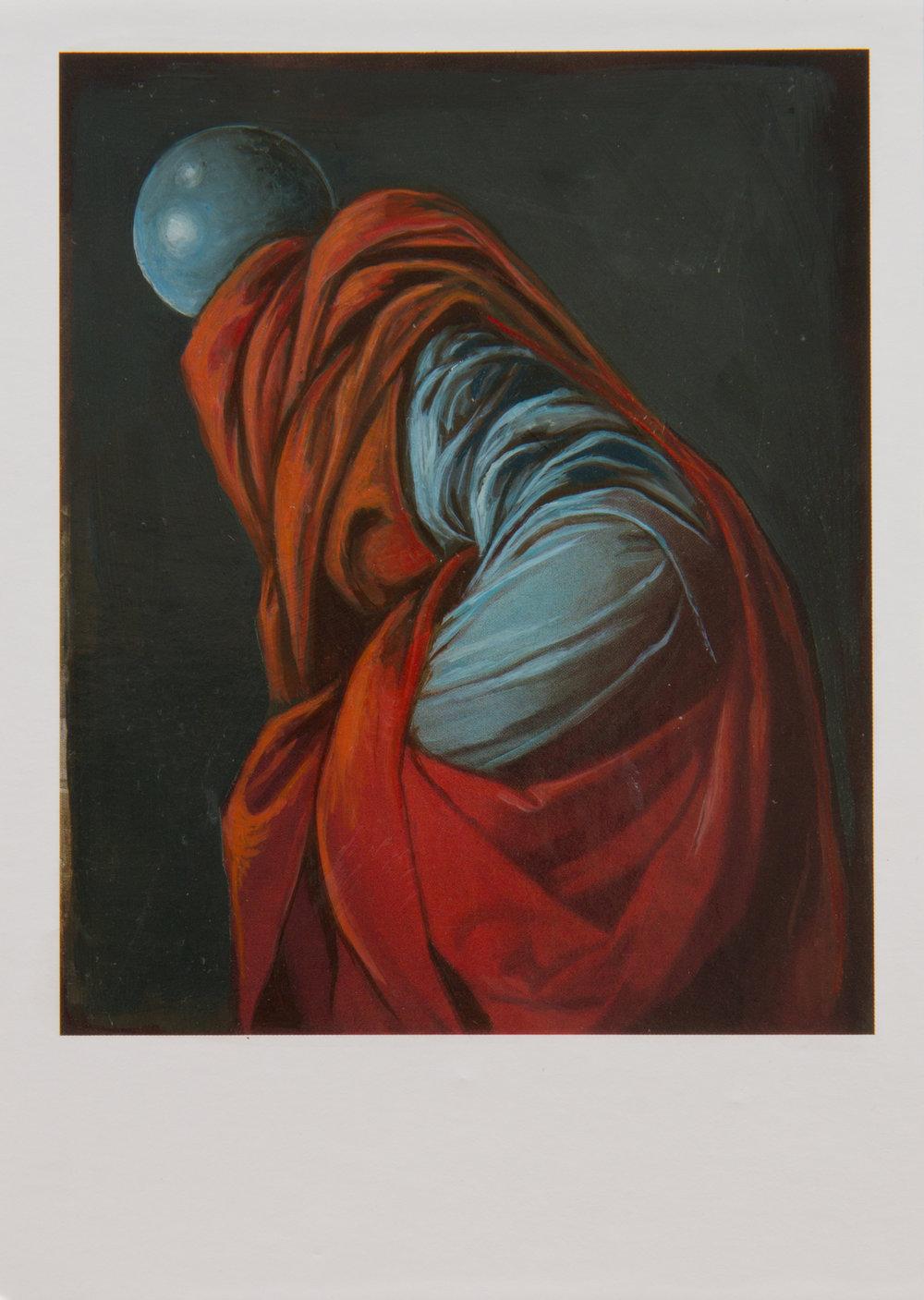 Shrugging Monk  2016