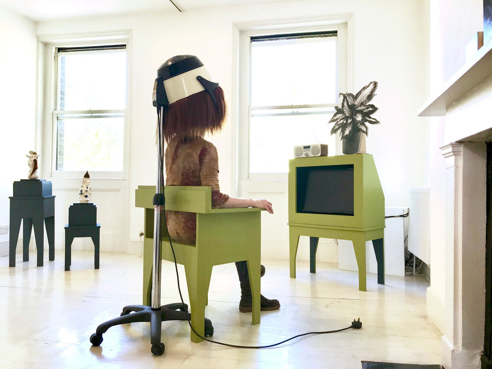 Hairy Dryer Unplugged   (photo curtesy Ariane Madden Neale)