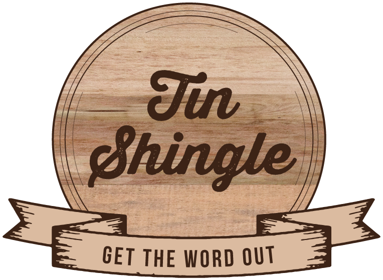 Tin Shingle - A most useful resource when doing your own PR