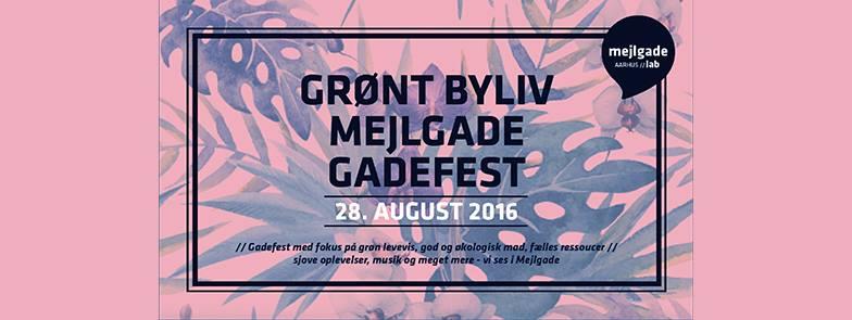GRØNT BYLIV GADEFEST