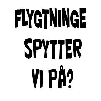 FLYGTNINGE SPYTTER VI PÅ?