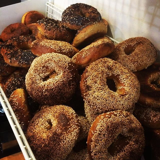 Happy Mondays #freshouttheoven #maxbagels #bagels #breestreet #baked #boiledbagels
