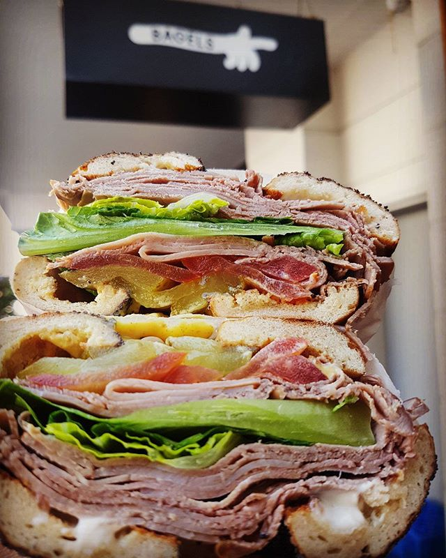 I eat, therefore I am. #maxbagels #bagels #instaeats #capetown #foodies