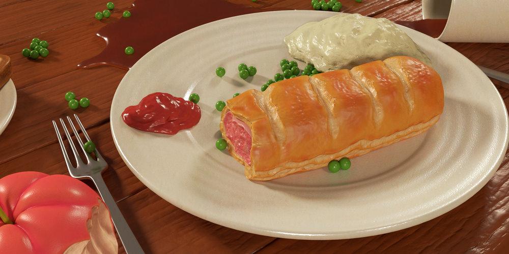 sausage roll 1