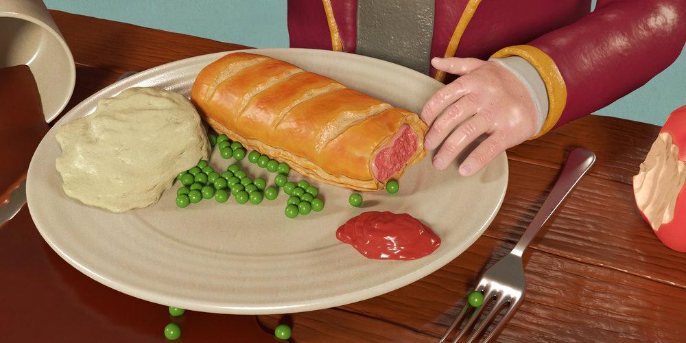 sausage roll 3