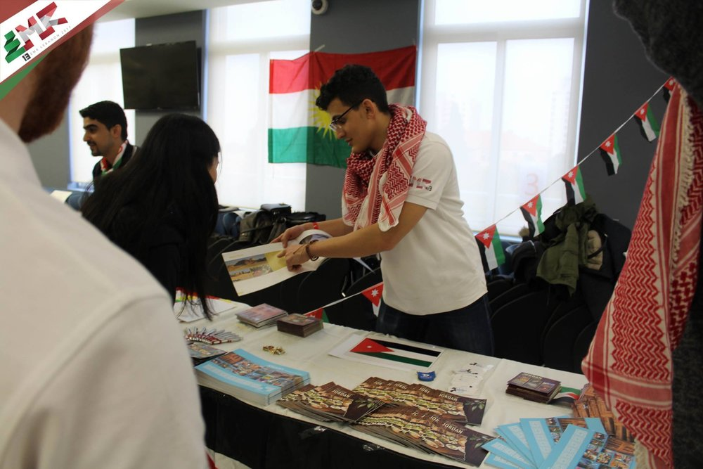 IFMSA-Jo at the Exchange Fair