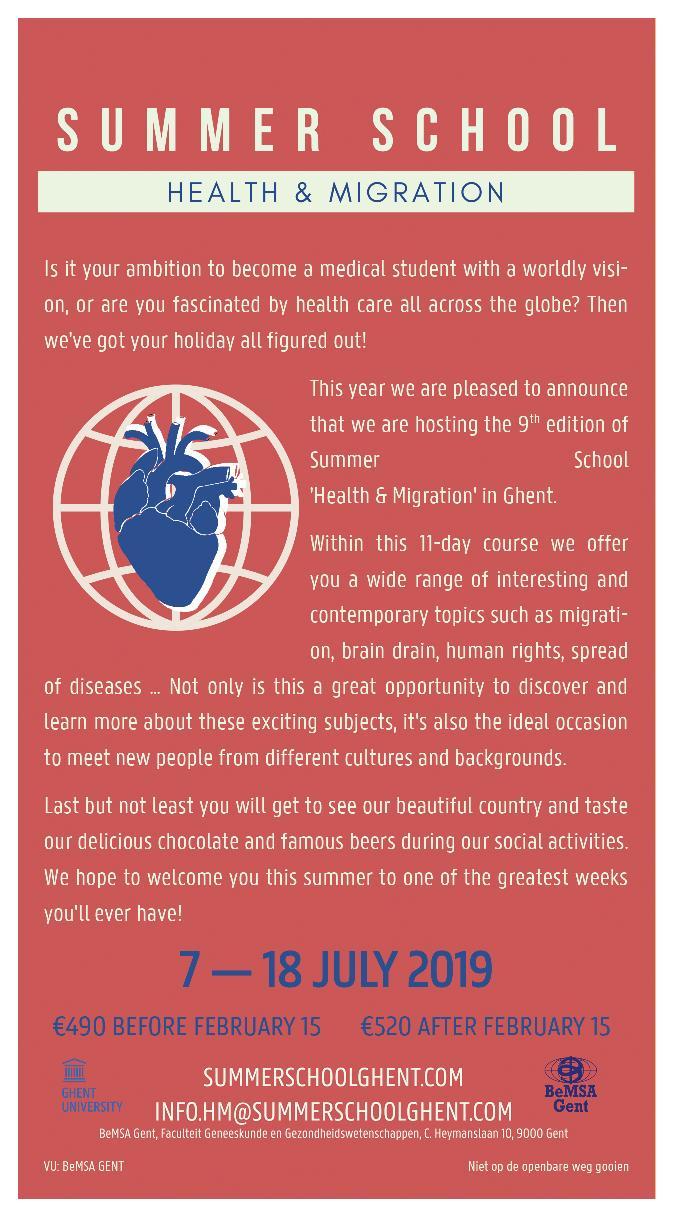 Summer School 'Health & Migration'