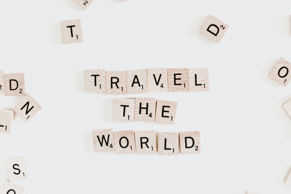 Surprise Trip Anywhr Travel The World Scrabble
