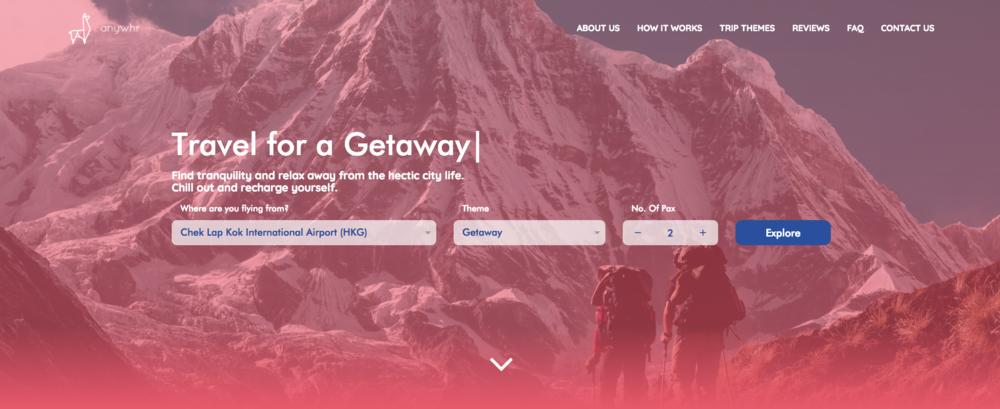Anwhr Surprise Trip Website Getaway
