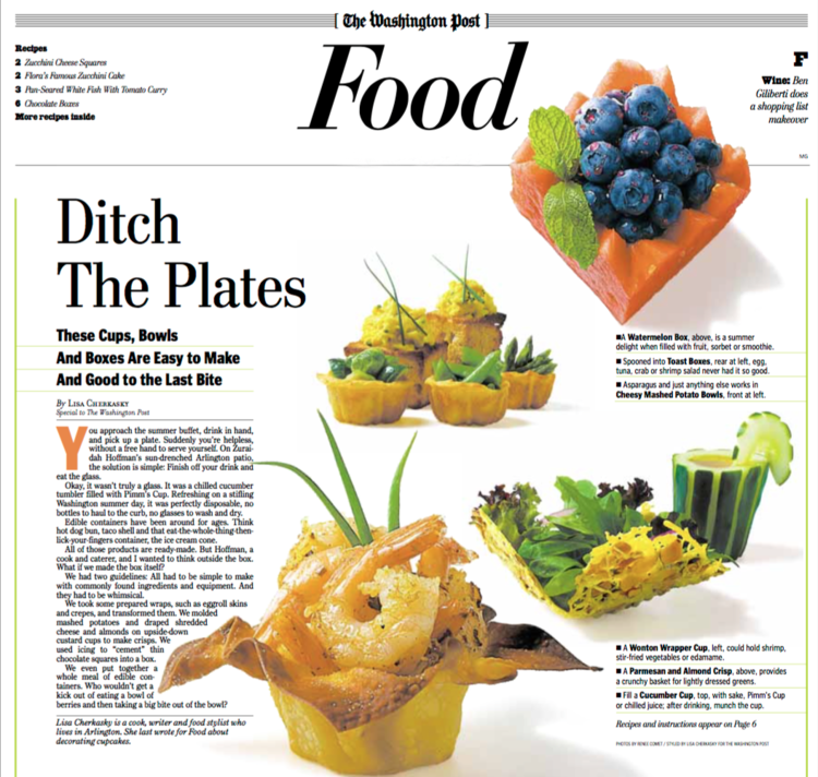 Writing lisa cherkasky food stylist culinary producer recipe ditch the plates forumfinder Images
