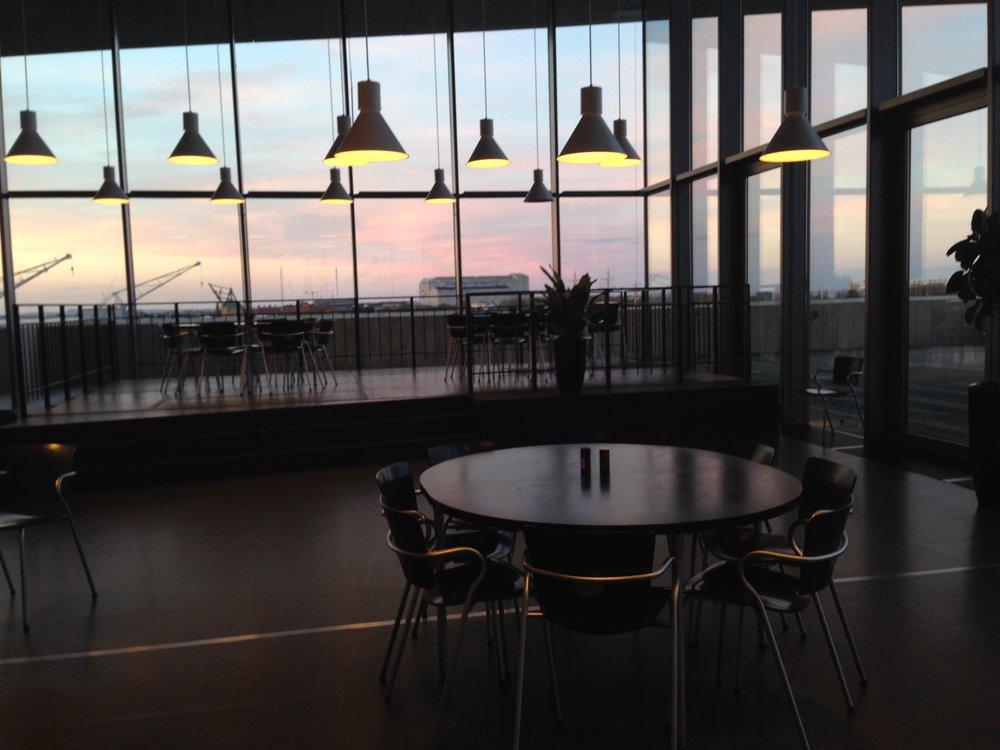 Copenhagen Opera House Cantine