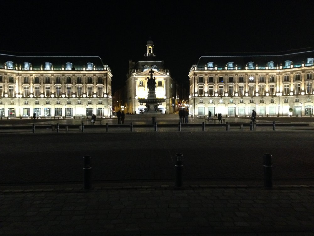 La Place de la Bourse (night)