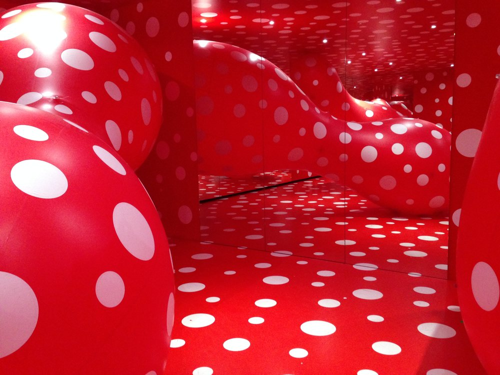 Yayoi Katsuma Exhibit - Louisiana Museum of Modern Art