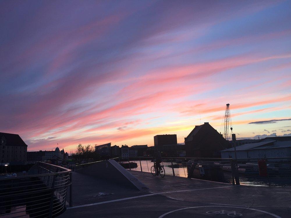 Holmen Sunset
