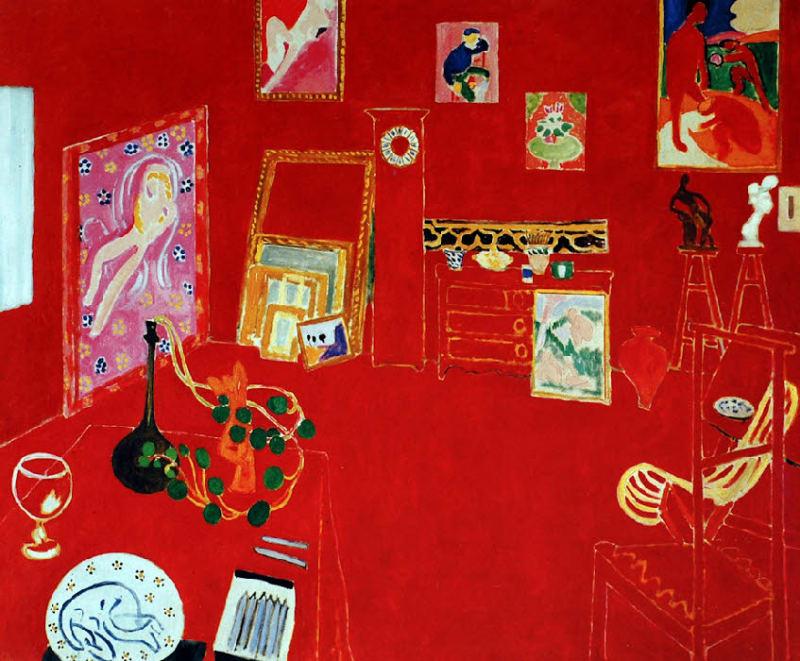 L'Atelier Rouge (1911)