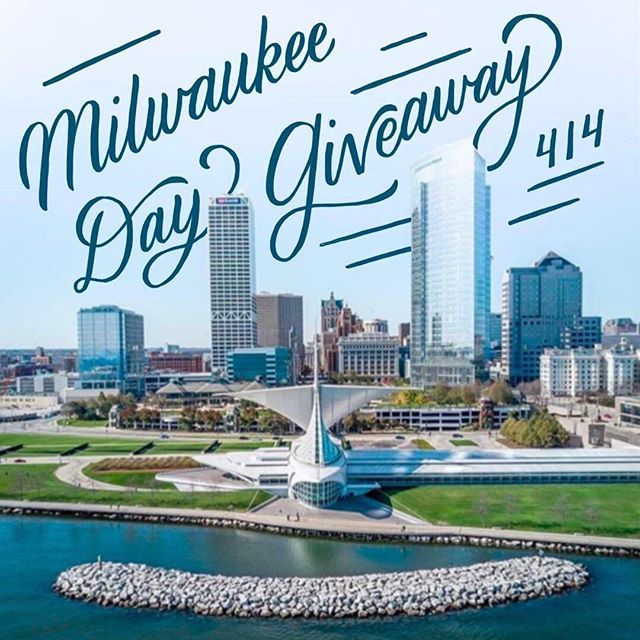 *Local Giveaway* To celebrate Milwaukee Day, a handful of Milwaukee creatives have teamed up for a local giveaway!  One lucky cheesehead will win the following: - $50 giftcard to @brunchmke - $50 giftcard to @thesohoboutiques - $50 giftcard to @shoptwigs - $50 giftcard to Hotel Madrid - $25 giftcard to Lake Effect Co. - Free haircut with @manaboutstyle from Scottfree Salon - Bouquet of flowers from @flowersfordreams - Milwaukee pillow set from Shop Be Timeless - Milwaukee print and pin from Wit And Co. - Mini photo session with Lottie Lillian Photography - Three homemade candles from @milwaukeecandleco - Fanny Pack from MilwaukeeHome - Two 30 minute personal training sessions with Ashley at Vita Advantage in the Third Ward - Pack of Milwaukee City Tins - Coffee from Stone Creek Coffee - One dozen MKE cookies from Yield Bakehouse  To enter the giveaway please complete the following steps by ‪midnight on Sunday, April 15th‬: 1️⃣ Follow @what.riva.wore @shopbetimeless @milwaukeehome @yieldbakehouse @fashionablyfit.ash @mymidwestisshowing @lottie.lillian @marriedinmke @milwaukeeeats @lakeeffectco @realbalanced @whhitneyy @jordandechambrestyle 2️⃣ Like this photo on everyone's feed. 3️⃣ Tag two local besties in the comments below.  Good luck!! The winner will be announced by the end of day ‪on Monday, April 16th‬! Photo by @tannerhusman with text by Whitney of Wit And Co.