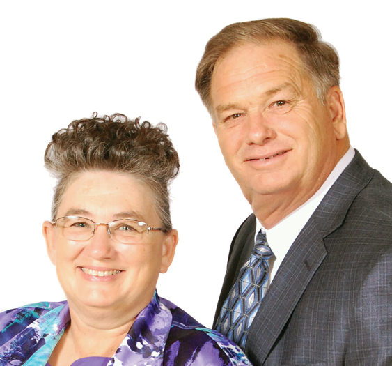 Terry and Cheryl Riddick