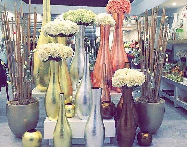 Impressive vases #bamboo #shiny #indochine_bamboo