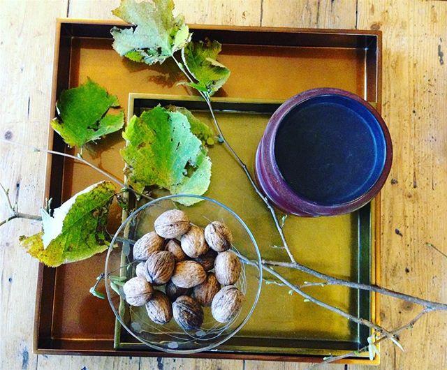 Let's go nuts! #squaretrays #gold #bronze #nuts #handmade #vietnam