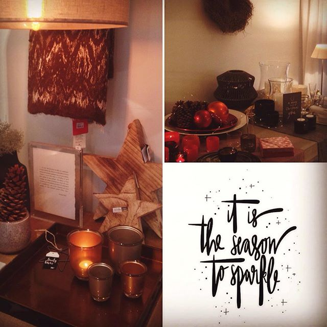 Sparkle season @cosicasa #christmas #presents #homewear #interior #deco #indochine_bamboo #squaretray #rounddish #christmasballs #shopspot