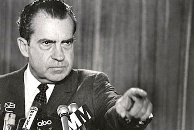 President Richard Nixon: Let the war on drugs begin Image credit:Library of Congress