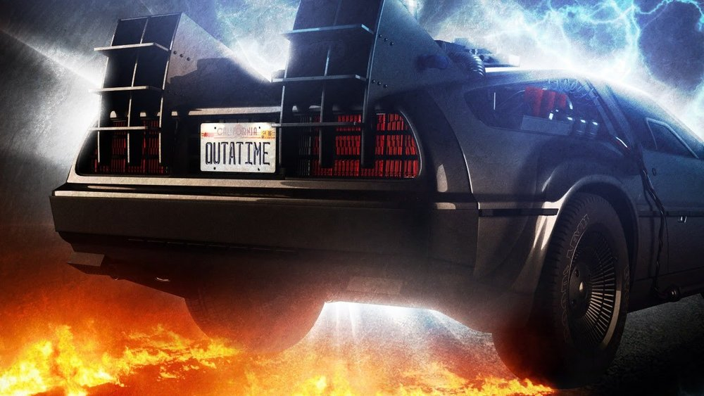 The DeLorean was furious for getting a parking ticket (Image credit: Universal Pictures)