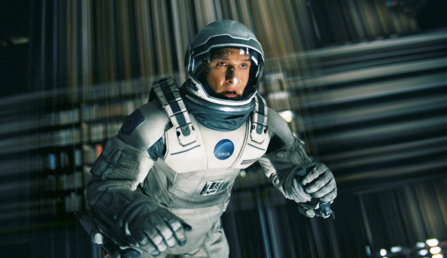 Interstellar: Never a good sign when you lose your library card in space (Image credit: Paramount Pictures/Warner Bros.)