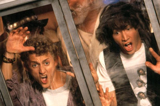 Bill and Ted's Excellent Adventure: The phone booth had a mind of its own (Image credit: De Laurentiis Entertainment Group)