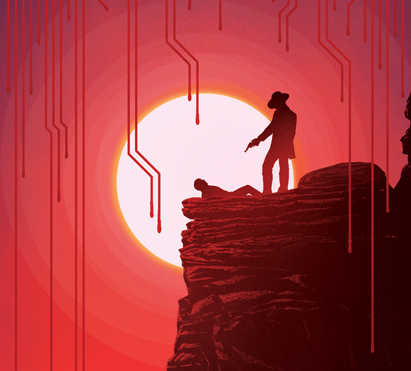 Westworld fan art poster (Image credit: Marko Manev)
