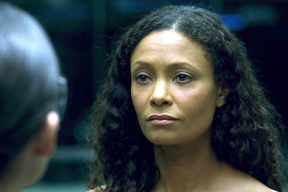 Thandie Newton as revolutionary host Maeve (Image credit: HBO)