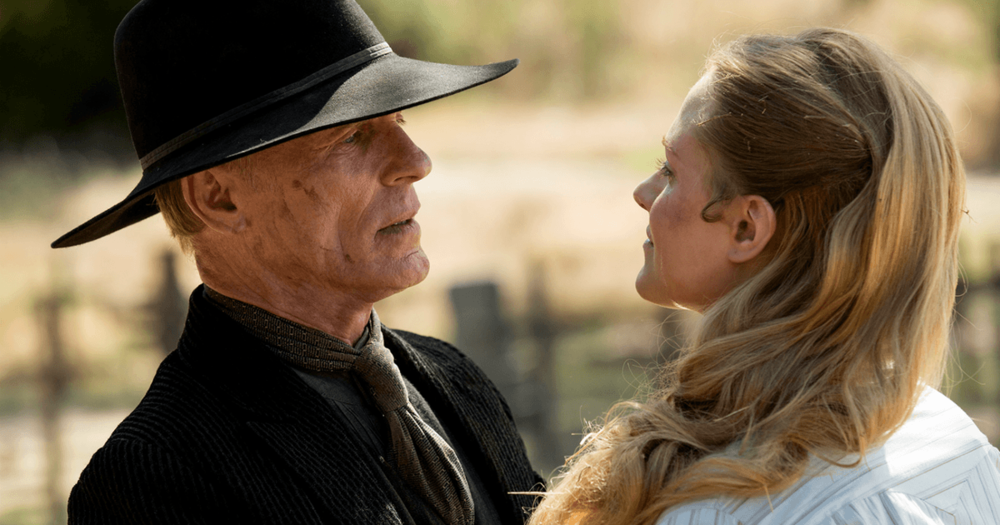 Ed Harris as the Man in Black is a symbol of torment (Image credit: HBO)