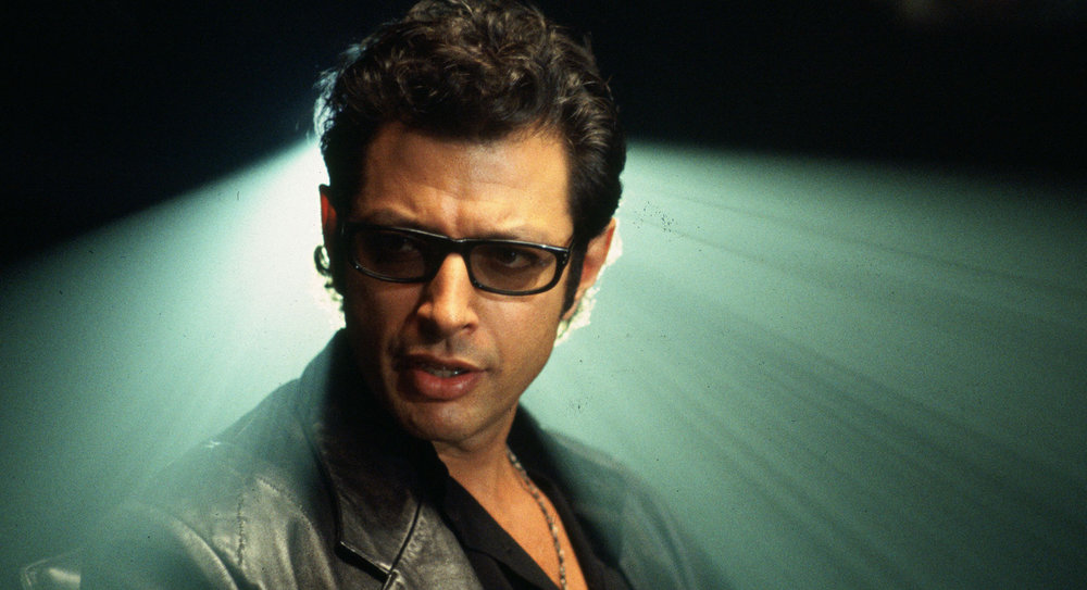 Jeff Goldblum as the iconic Dr. Ian Malcolm in Steven Spielberg's Jurassic Park (Image credit: Universal Studios)