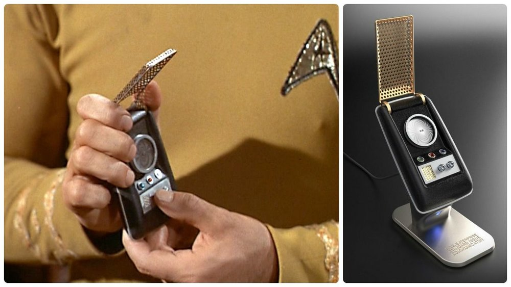 Who didn't want a communicator as a kid? (Image: CBS Paramount)