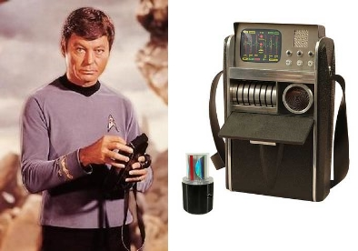 Doctor McCoy and his trusty ol' tricorder (Image: CBS Paramount)